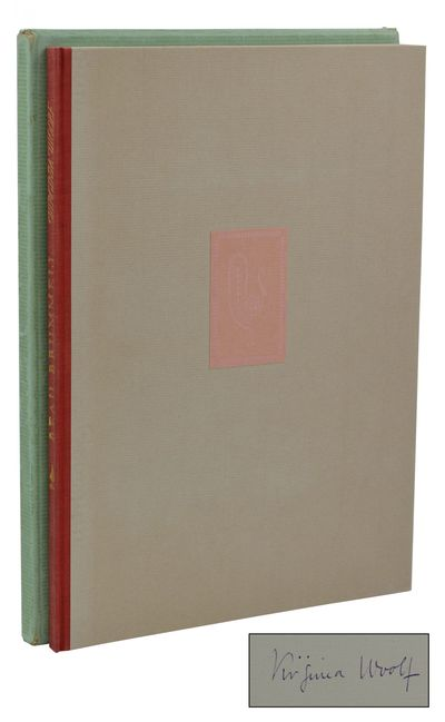 New York: Rimington & Hooper, 1930. First Separate Edition. Fine. Signed limited edition. Copy #469 ...