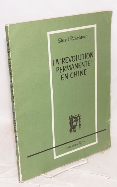 Paris: Mouton, 1963. xlix, 65p., wraps torn at bottom of spine. Collection of Chinese communist docu...