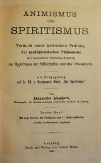 ANIMISMUS UND SPIRITISMUS   TWO VOLUMES