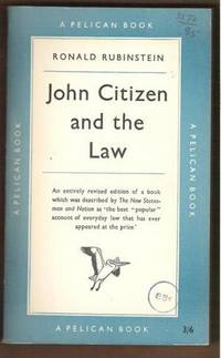 JOHN CITIZEN AND THE LAW