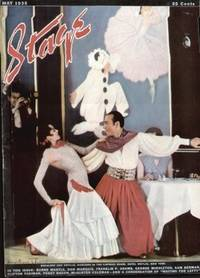 image of STAGE THE MAGAZINE AFTER-DARK ENTERTAINMENT (MAY 1935)  Front Cover;  Dancers in the Caprice Room, Hotel Weylin, New York