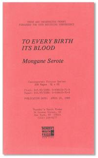 To Every Birth Its Blood
