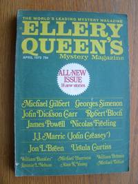 Ellery Queen's Mystery Magazine April 1973