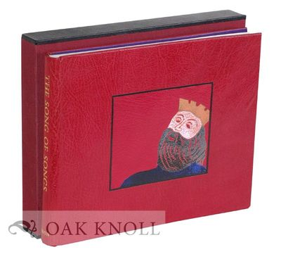 (London: Flying Sugar Press, 1995. Bound By Robert Hadrill in full crimson leather with gilt title o...