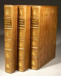 The Naval Chronology of Great Britain - in Three Volumes with Contemporarily Coloured Plates