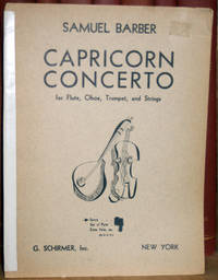 Capricorn Concerto for Flute, Oboe, Trumpet, and Strings, Op. 21