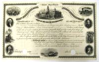 LOAN OF THE CITY OF PHILADELPHIA| CERTIFICATE NO. 162.| SIX PER CENT LOAN.| THIS CERTIFIES THAT THERE IS DUE TO NATHAN NATHANS, GUARDIAN OF GEORGE AND JOHN LOCKHART BY THE CITY OF PHILADELPHIA, ONE THOUSAND DOLLARS, WITH INTEREST, AT THE RATE OF SIX PER CENTUM PER ANNUM, PAYABLE HALF YEARLY, ON THE FIRST DAYS OF JANUARY AND JULY. THE PRINCIPAL NOT REIMBURSABLE, WITHOUT THE CONSENT OF THE OWNER HEREOF, BEFORE THE FIRST DAY OF JANUARY, 1892... IN WITNESS WHEREOF, THE TREASURER OF THE SAID CITY HAS HEREUNTO SET HIS HAND, AND CAUSED THE SEAL OF THE CITY OF PHILADELPHIA TO BE HEREUNTO ANNEXED, THE TWENTY-SIXTH DAY OF JULY 1854, AND THE CONTROLLER HAS ATTESTED THE SAME ON THE SAME DAY AND YEAR by [Philadelphia Judaica] - 1854 - from David M. Lesser, Fine Antiquarian Books LLC and Biblio.com