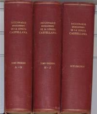 Diccionario Enciclopédico de la Lengua Castellana, Three Volumes