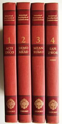 International Encyclopedia of Communications, Volumes 1 - 4