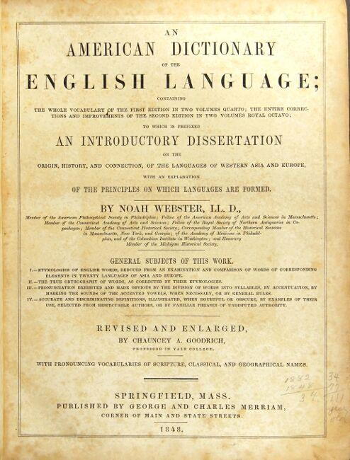 Dissertation webster dictionary