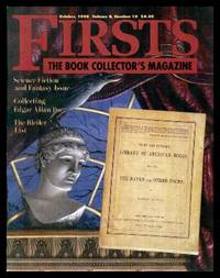FIRSTS - The Book Collector's Magazine - Volume 8, number 10 - October 1998