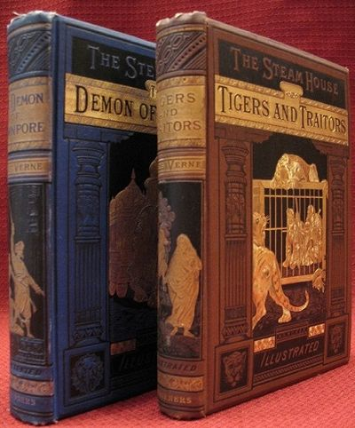 2 volumes. The Demon of Cawnpore 262+++ pages with frontispiece and 48 plates. Small octavo (7 ½