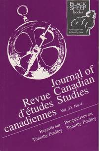 image of Journal of Canadian Studies / Revue D'etudes Canadiennes, Vol. 33, No. 4 - Perspectives on Timothy Findley