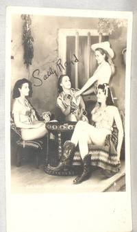 image of Sally Rand Photo Postcard Signed By Her