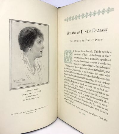 Irish & Scottish Linen Damask Guild Inc., 1926. Hardcover. Blue boards, white paper title. Very good...