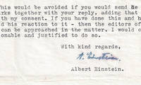 In a Detailed and Unpublished Letter on Classical and Quantum Physics, Albert Einstein Issues a Treatise – a Scientific Explanation – Underpinning His Belief That the Universe Cannot Be Random This remarkable scientific letter shows Einstein's mind at work, and his lifelong quest to not only explain but to validate
