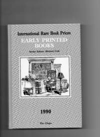 Early Printed Books 1990