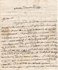 image of Autograph Letter Signed to C. Upton, his agent at Derby, (Charles Stanhope, 1753-1829, M.P., General and Diplomat, from 1779 3rd Earl)