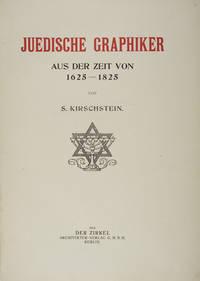 Berlin: Der Zirkel, 1918. Hardcover. g. Folio. 72pp. 1/4 mottled gray cloth over green paper covered...