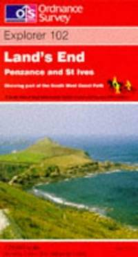image of Land's End, Penzance and St.Ives (Explorer Maps)