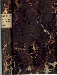 De Metris Pindari libri III. Quibus praecepta artis metricae et musices Graecorum docentur. Cum notis criticis in Pindari Carmina