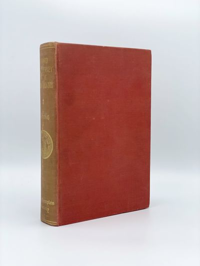 Toronto: The Champlain Society, 1939. Spine a bit rubbed and faded. 8vo. Plates and maps. Original r...