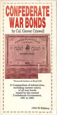 image of Confederate War Bonds: 1992-1993 Edition