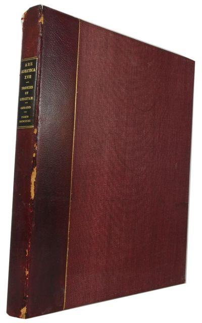 n.p., 1931. Hardcover. Very Good. v, 90, (5)p. Original typescript in a quarterbound portfolio binde...