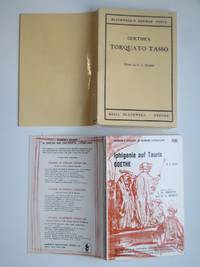 image of Goethe's Torquato Tasso, with, Iphigenie auf Tauris