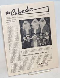 The Calendar: vol. 1, #7, Jan. 4, 1982