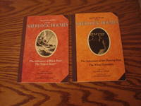 """Match Wits With Sherlock Holmes: The Adventure of Black Peter/The """"Gloria Scott""""  (Vol. 1), The Adventure of the Six Napoleons/The Blue Carbuncle (Vol. 3), The Adventure of the Dancing Men/The Three Garridebs (Vol. 7), The Hound of the Baskervilles (Vol. 8)"""