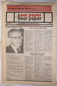 image of Our Paper, Your Paper; the gay family paper of the Santa Clara Valley; vol. 3, #8, April 18, 1984