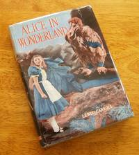 ALICE IN WONDERLAND (Superb Copy of the 1933 English Film Photoplay Version in Original Dust Jacket,)
