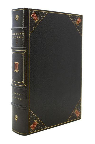 A Beautiful Set, Limited to 73 Copies GIBBON, Edward. The Works of Edward Gibbon. New York: Fred DeF...