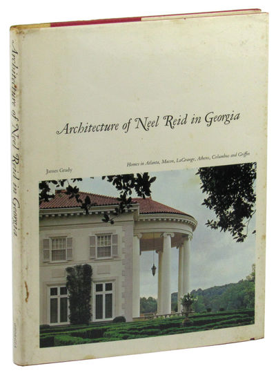 Athens: University of Georgia Press, 1973. Hardcover. Very good. 204pp. Foxing to page edges, else a...