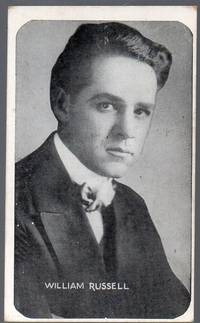 image of 1917 Kromo Gravure Photo Trading Card of Silent Flim Star William Russell