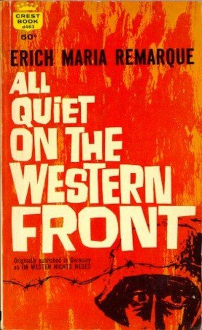 a literary analysis of all quiet on the western front by erich maria remarque All quiet on the western front by erich maria remarque all quiet on the western front analysis literary devices in all quiet on the western front.