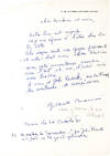 View Image 3 of 3 for Famous Photographer Brassai Writes about an Exhibition and his Health from an English Spa that Inspi... Inventory #20356