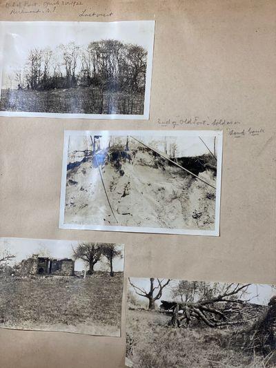 Scrapbook Documenting Archeological...