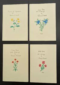 A Complete Set (4 Vols.) Of The Series Poems With Drawings : All Signed And Hand Coloured By The...