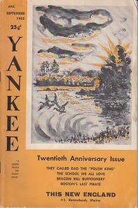 Yankee Magazine, September 1955, Twentieth Anniversary Issue