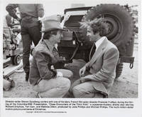 Close Encounters of the Third Kind (Original photograph of Steven Spielberg and Francois Truffaut from the set of the 1977 film)