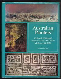 image of AUSTRALIAN PAINTERS Colonial 1788-1880. Impressionists 1881-1930. Modern  1931-1970