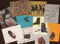 [Group of ten different exhibition catalogs from Aaran Art Gallery in Tehran]