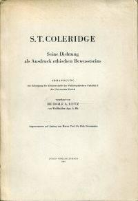 S. T. Coleridge.
