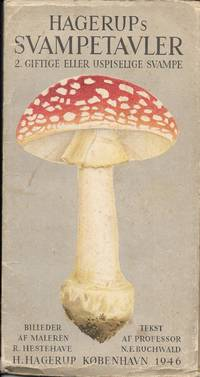 Vintage Danish Toxic-Poisionous Mushroom Guide - Poster (Hagerups Svampetavler)
