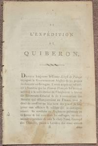 L'Expédition de Quiberon. Par un Officier François, à bord de la Pomone.