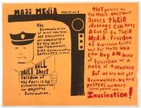 image of Mass Media Poster No. 3: The Communication of News and Ideas are Accelerated and Democratized by New Media and Technology, Like Communication Satellites, Telstar..