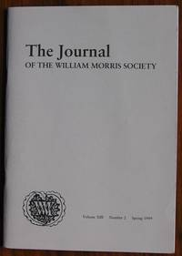 The Journal of the William Morris Society Volume XIII Number 2 Spring 1999