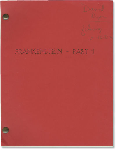 Los Angeles: Dan Curtis Productions, 1972. Two Revised Draft scripts,